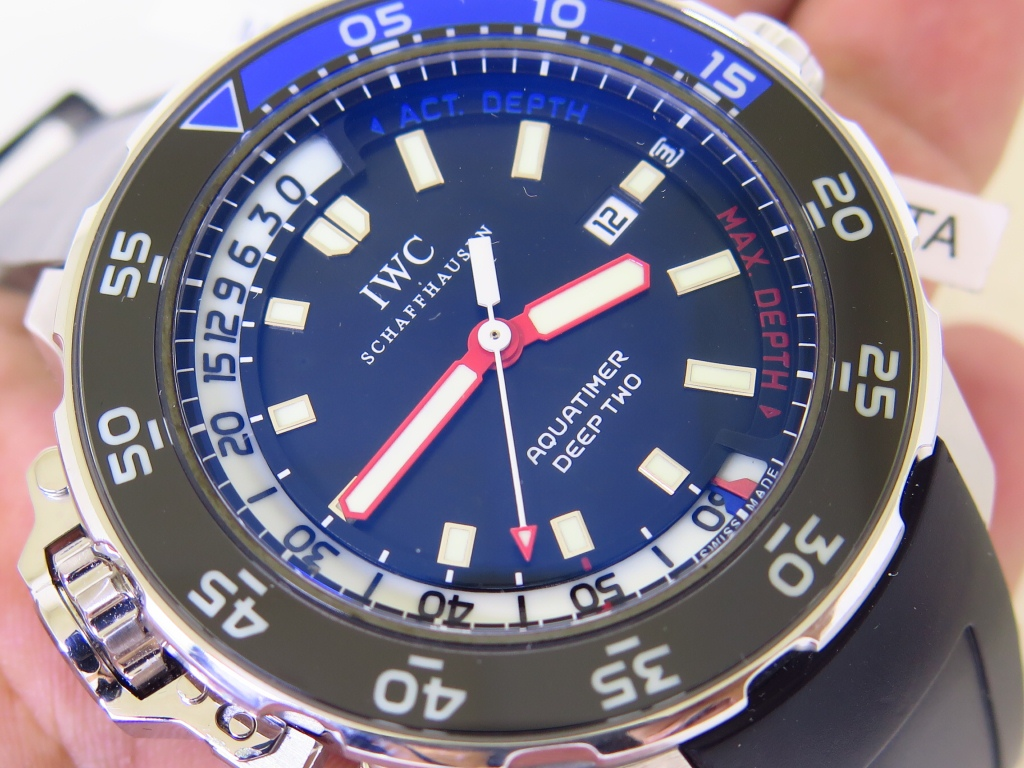 IWC SCHAFFHAUSEN AQUATIMER DEEP TWO 47MM - REF IW354702 - AUTOMATIC - FULLSET BOX PAPERS