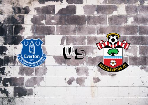 Everton vs Southampton  Resumen