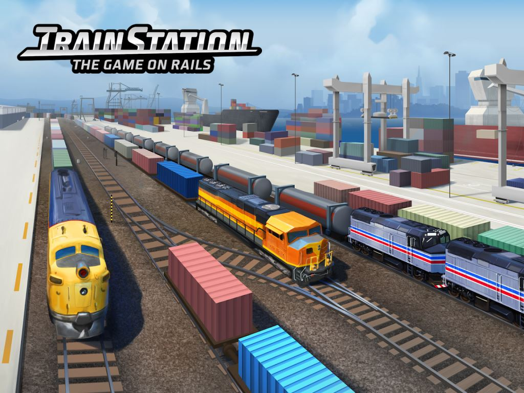 Game Kereta Api Terbaik di Android Train Station