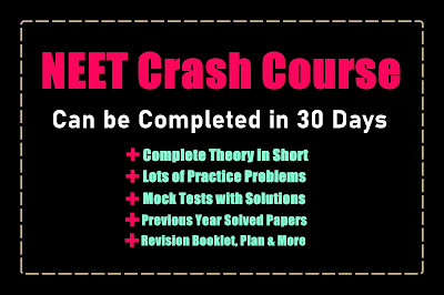 NEET Crash Course 2021 - Can be completed in 30 Days