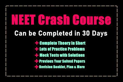 NEET Crash Course 2021 - Can be completed in 30 Days | Paid Course