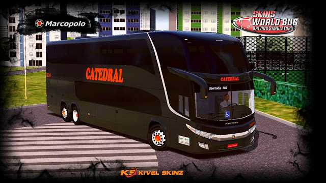 PARADISO G7 1800 DD 6X2 - VIAÇÃO CATEDRAL BLACK