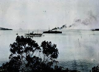 kapal pemerintah sibolga dan kapal pemerintah nias di lautan sibolga