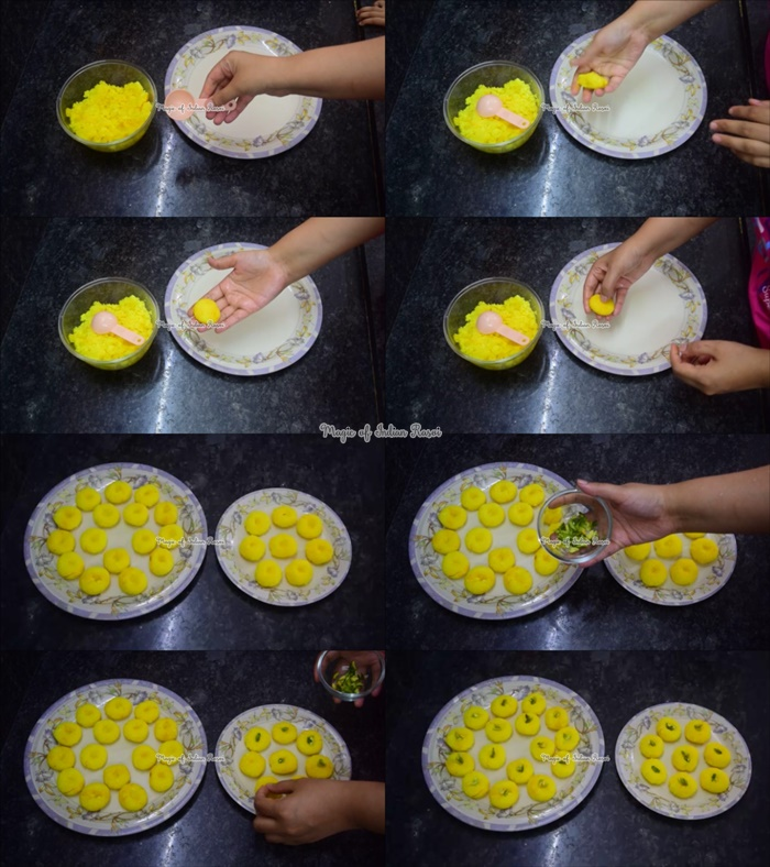 Paneer Petha Peda with Homemade Khoya Recipe - पनीर पेठा पेड़ा घर के खोये से रेसिपी - Priya R - Magic of Indian Rasoi