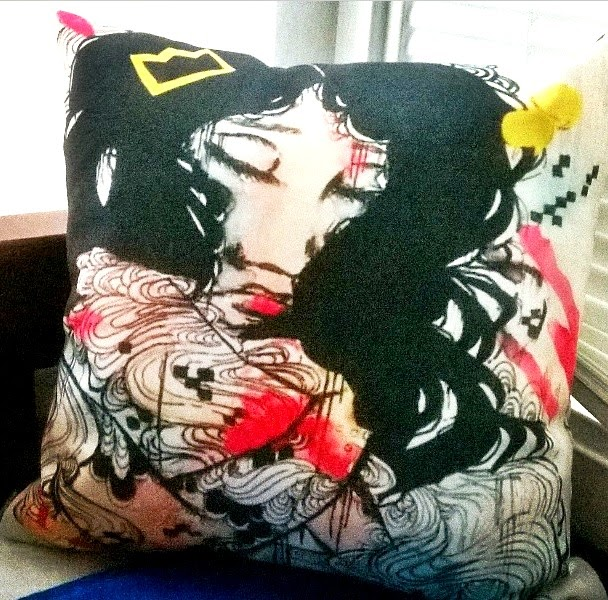 Artofprincessm: Society6 Pillow Review