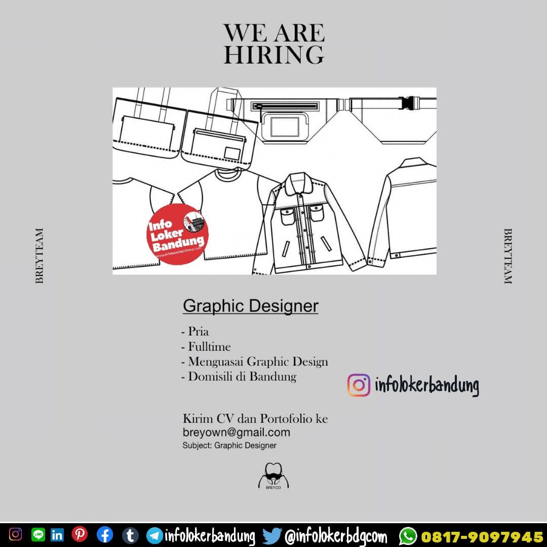 Lowongan Kerja Graphic Designer Brey Co Bandung Februari 2020