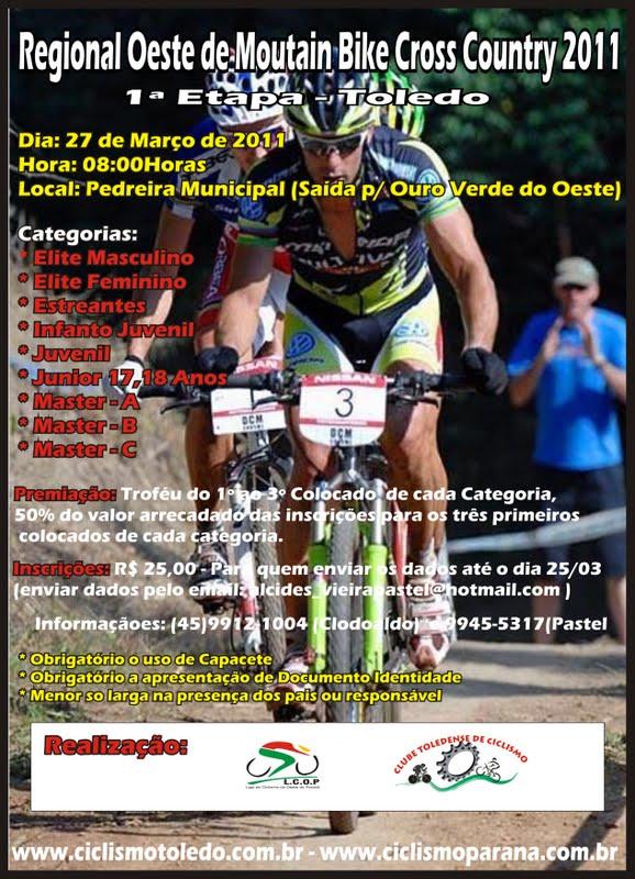 Bons treinos a todos. Atenciosamente Clodoaldo Pereira Pres. Clube  Toledense de Ciclismo http   www.ciclismotoledo.com.br  4206c58a26