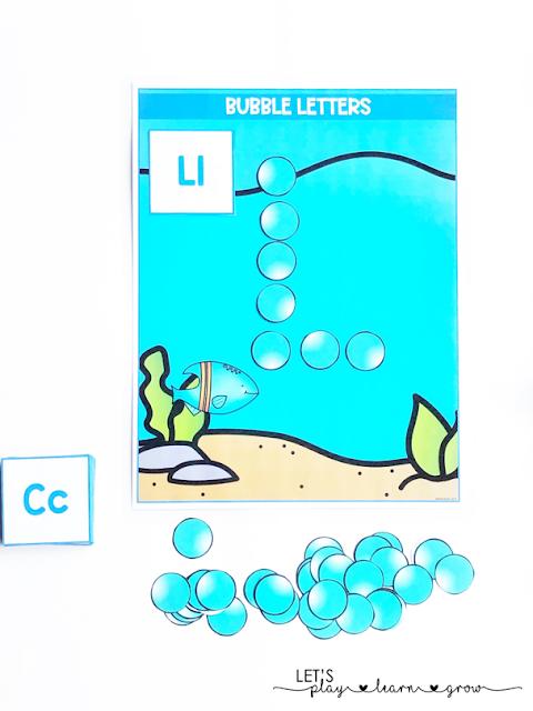 Ocean Letters Activity
