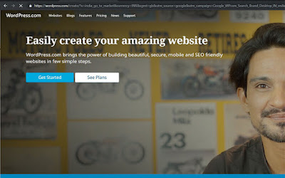 Easily create your amazing blog for free