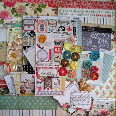 September My Creative Scrapbook Kit Reveal Reveals lots of Color!