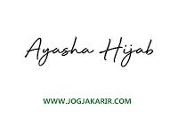 Lowongan Kerja Jogja Shopkeeper di Ayasha Hijab