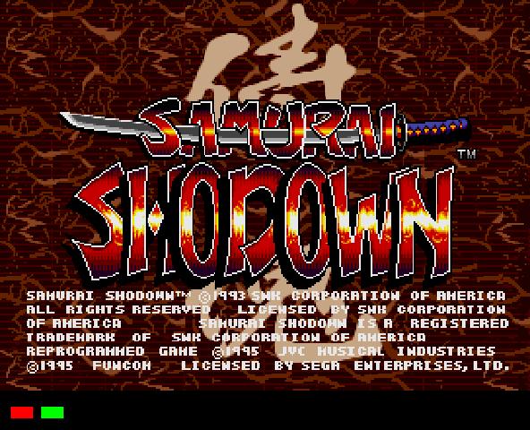 Samurai Shodown Online SCD