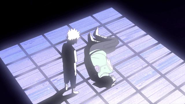 terus mendapat cibiran, sakumo mengakhiri hidupnya dengan bunuh diri