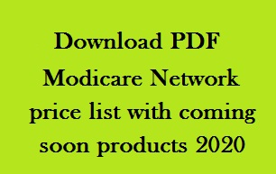 Modicare price list with products