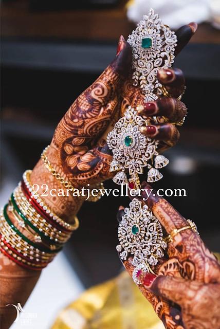 Jhumkas Design Diamond Jada