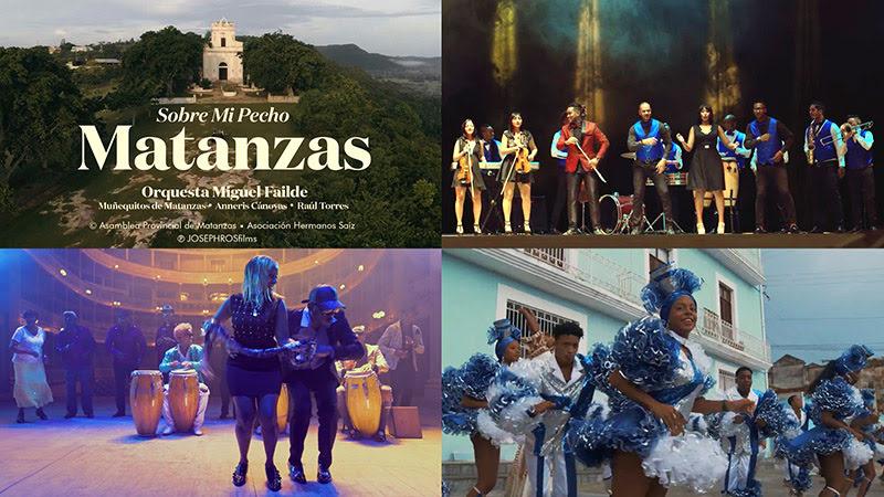 Orquesta Miguel Failde - ¨Sobre mi pecho Matanzas¨ - Videoclip - Director: Joseph Ros. Portal Del Vídeo Clip Cubano