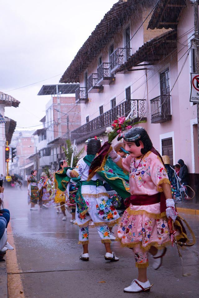 """Lugareando"" en la fiesta patronal de Cajabamba 2019"