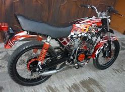 Motif Airbrush Motor Rx King Keren