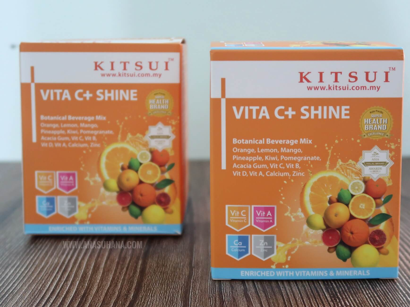 Kitsui Vita C+ Shine Bantu Tingkatkan Sistem Imunisasi Badan
