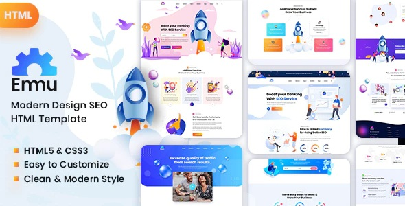 Marketing Agency HTML Template