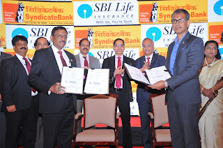 SBI Life Insurance - Syndicate Bank bancassurance partnership