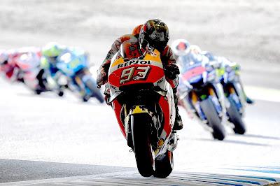 O Marc Marquez νικητής του αγώνα και Παγκόσμιος Πρωταθλητής MotoGP 2016 στην Ιαπωνία
