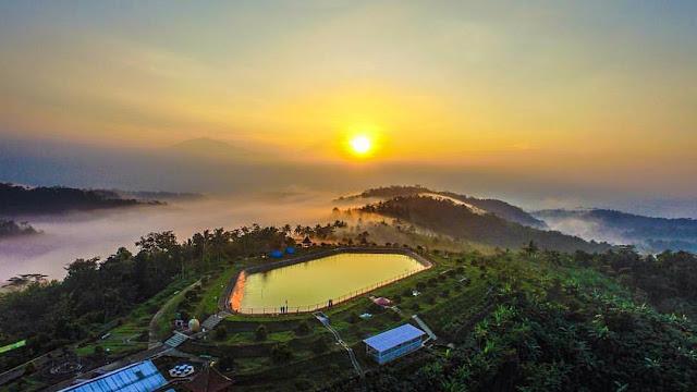 Embung Banjaroya Kalibawang: Lokasi, Rute, dan Harga Tiket