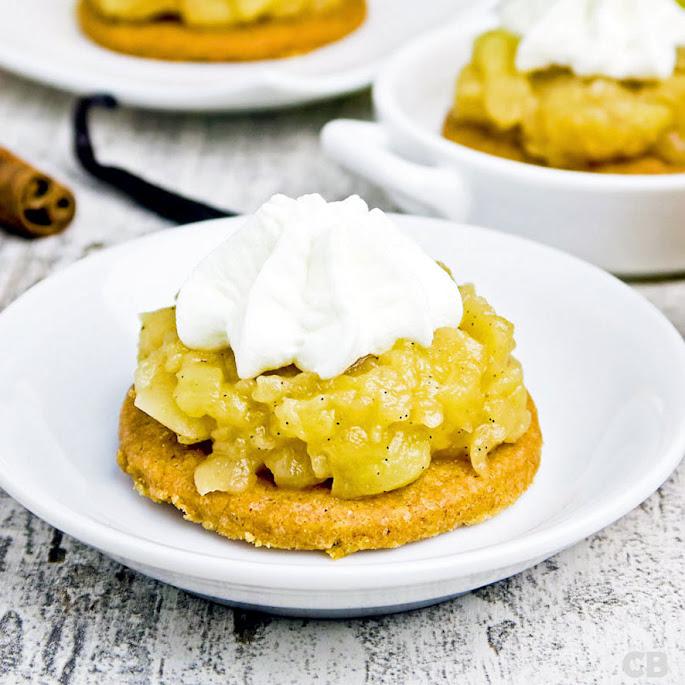 Recept: zo maak je zelf mini-appeltaartjes met karamelappeltjes