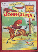 Cover illustration by Caldecott of The Diverting History of John Gilpin