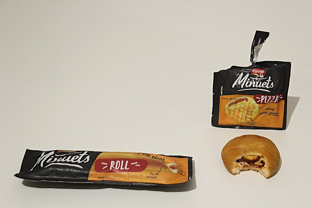 Minuets Roll y Minuets Pizza