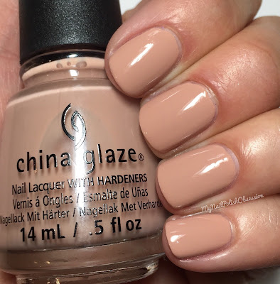 China Glaze House Of Colour, Spring 2016; Sorry I'm Latte