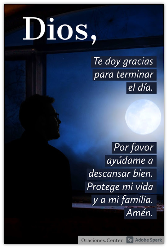 Oraciones Cortas de la Noche