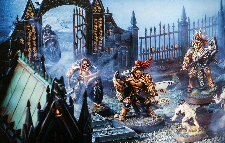 Mengel Miniatures: REVIEW: Warhammer Age of Sigmar Skirmish