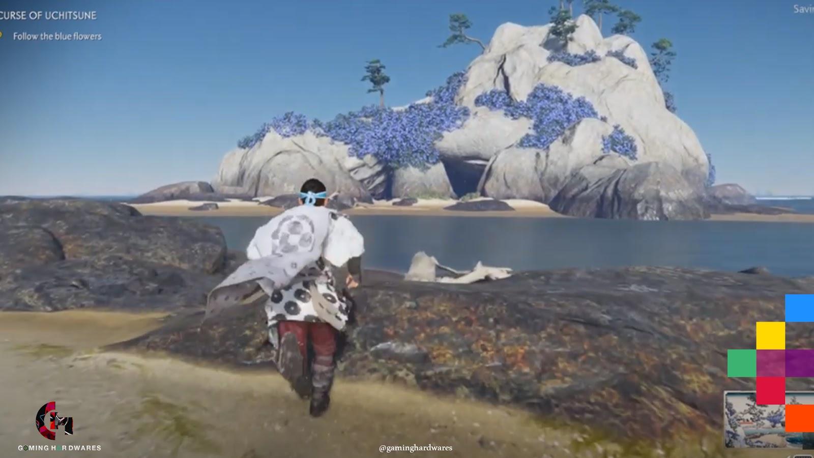 Ghost of Tsushima Curse of Uchitsune search for Hiyoshi mountain
