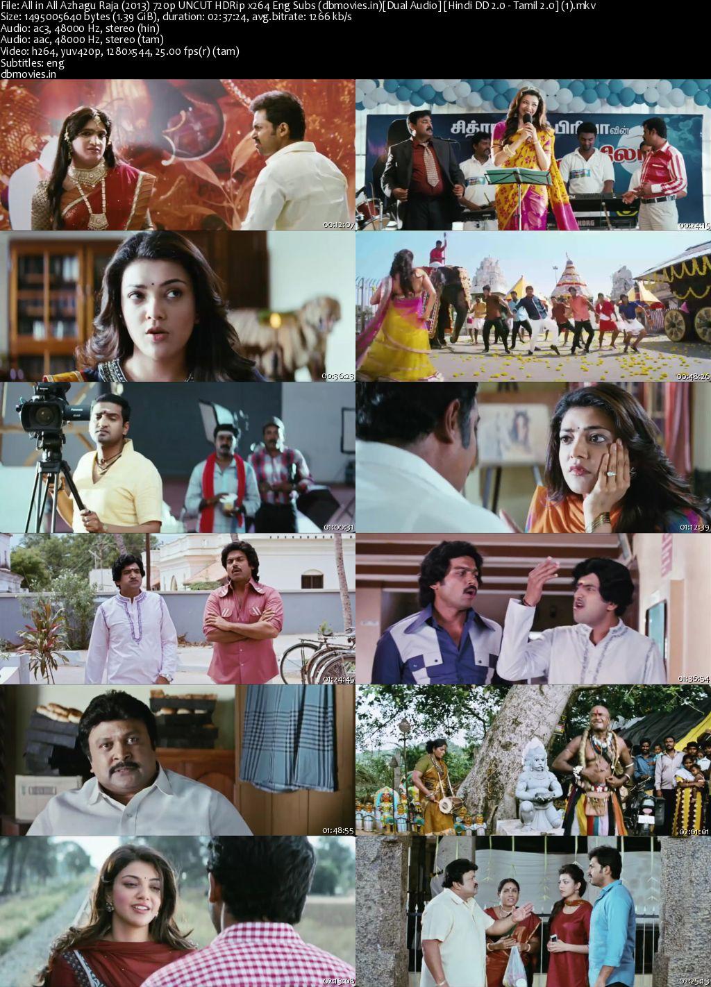 screen shot All in All Azhagu Raja 2013 Full Movie Dual Audio Hindi Download 720p