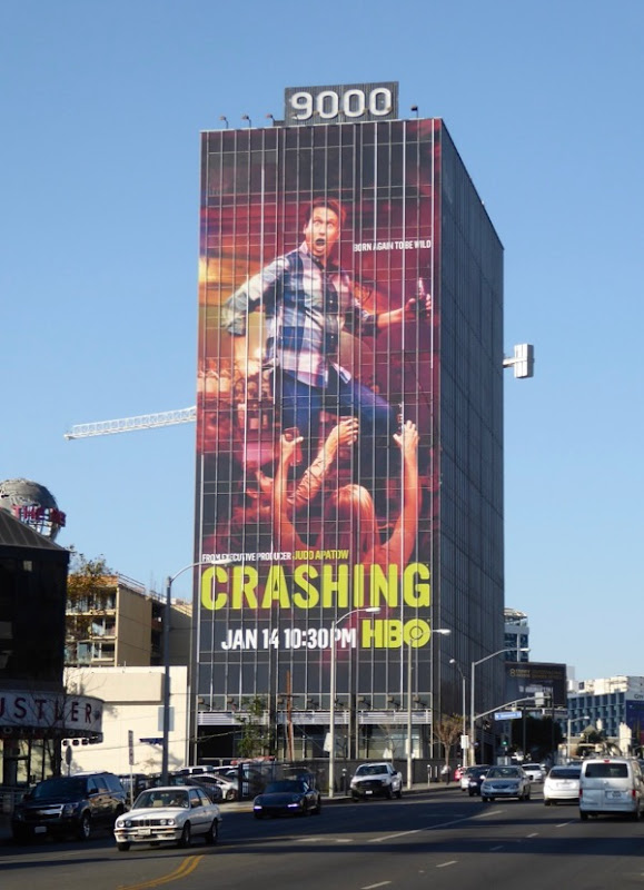 Giant Crashing season 2 billboard