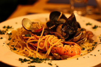 Shrimp and Clams Pasta