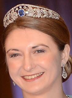 sapphire tiara luxembourg grand duchess marie adelaide stephanie