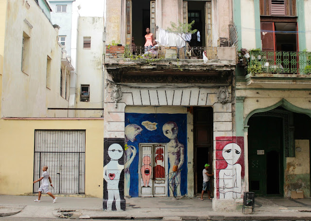 Street art La Habana