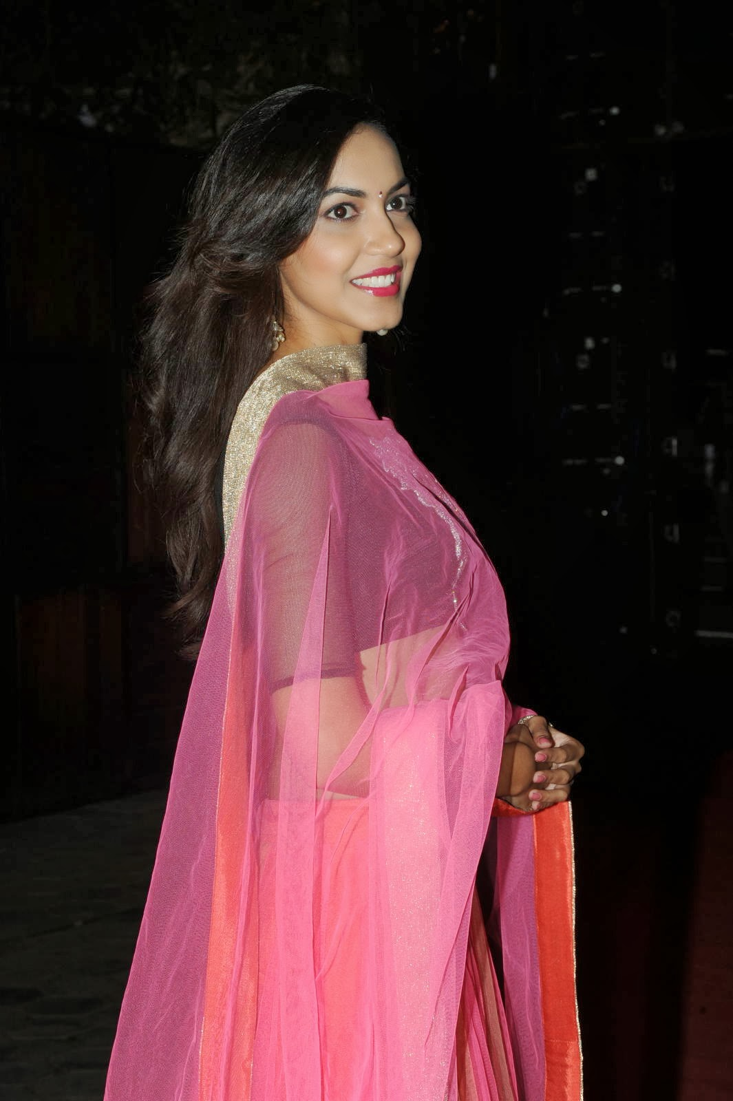 hot and sexy Ritu varma in ethnic pink lengha choli