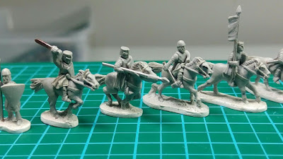 Project Update #3: 13th Century 10mm Baronial Wars English Army miniatures Kickstarter from Apocalypse Miniatures