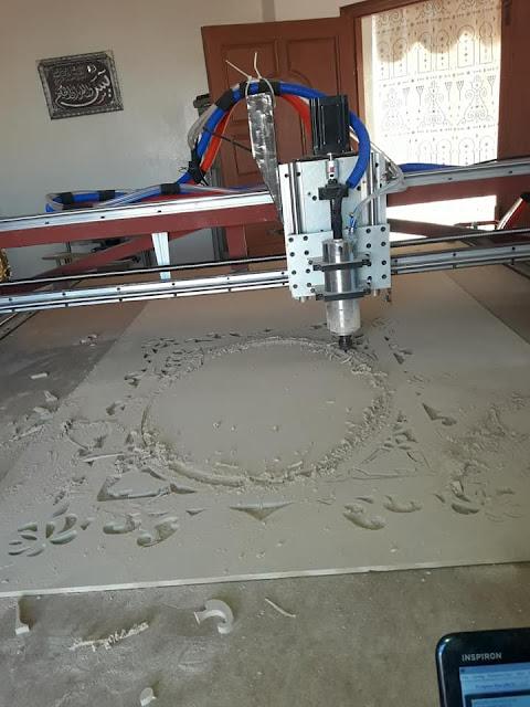 المهدية : فنّي يبتكر آلة للنقش على الخشب والبلاستيك