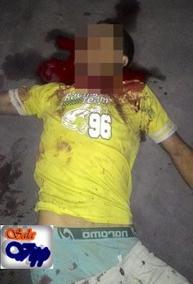 Após balear madastra com arma de fogo, irmão é morto pelo própio irmão a golpes de facão na zona rural de Buriti