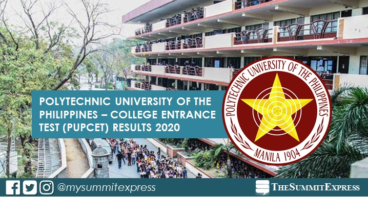 LIST OF PASSERS: PUPCET Results AY 2020-2021 release online