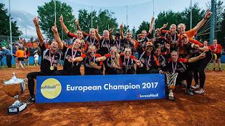 SÓFTBOL - Campeonato de Europa femenino 2017 (Bollate, Italia): Holanda retoma el título europeo y ganando a las italianas en la final