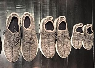 2e3affdeb0aff adidas   Kanye West Made Toddler Yeezy Boost 350 s For His Daughter North  as we seen a post from Momma Kim Kardashian West today