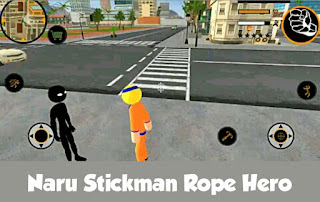 Naru stickman rope hero