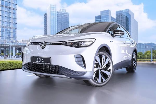 VW ID.4 será equipado com pneus Hankook projetados para carros elétricos