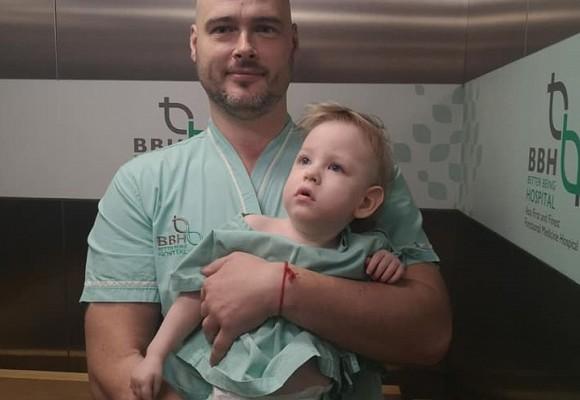Родители собирают деньги на лечение сына: «В Латвии его списали, как ненужного» Но мы не сдаемся!!!