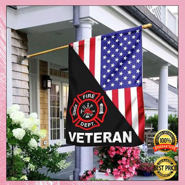 [Discount] Firefighter Veteran American Flag